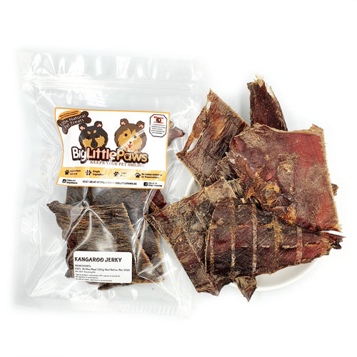 Kangaroo Jerky Dog Treats