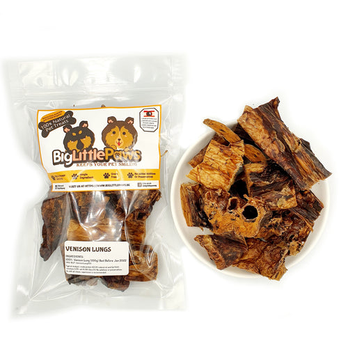 Venison Lungs Dog Treats