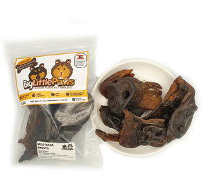 Natural Wild Boar Snouts Dog Treats