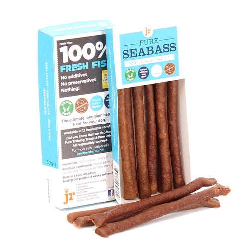 Pure Seabass Sticks Dog Treats