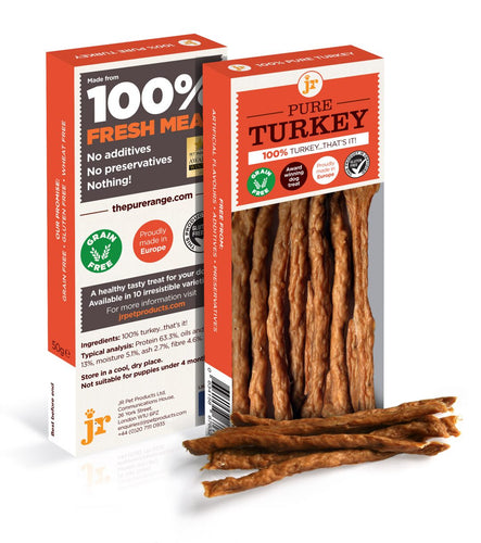 Pure Turkey Sticks Dog Treats
