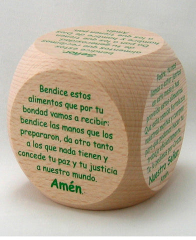 Prayer - Cubo de Oraciones de Mesa