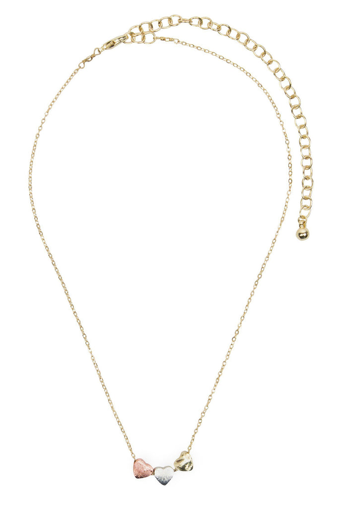 Jewelry - Dainty Hearts Necklace