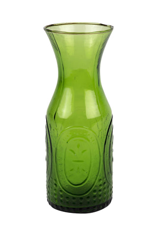 Home - Embossed Glass Carafe