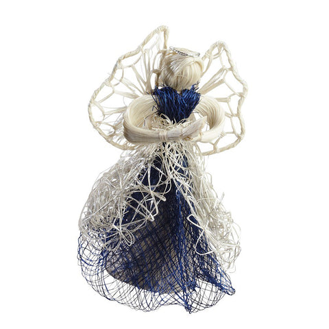 Christmas, Heavenly Blue & White Angel Ornament (SMP30-1057)
