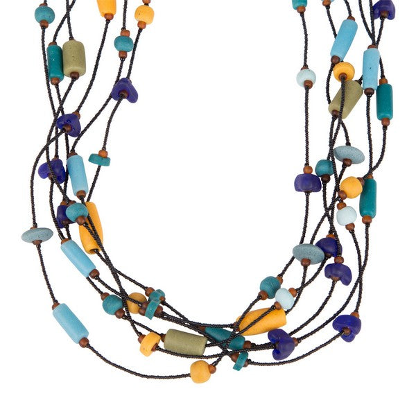 Jewelry - Long Journey Beaded Necklace