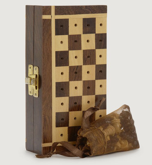 Games - Shesham Travel Chess Set