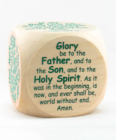 Prayer - Original Catholic Prayer Cube