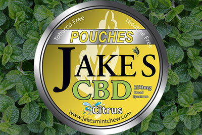 3 Tins CBD Pouches - Citrus