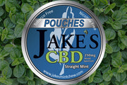 3 Tins CBD Pouches - Straight Mint