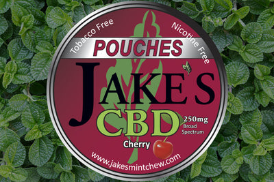 3 Tins CBD Pouches - Cherry