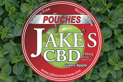 3 Tins CBD Pouches - Green Apple (LIMITED SUPPLY)