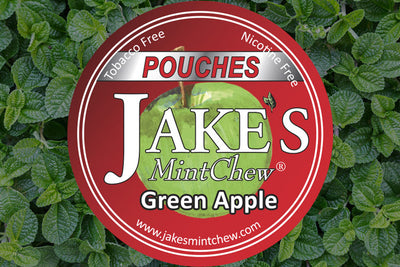 Green Apple Flavor Mint Pouches