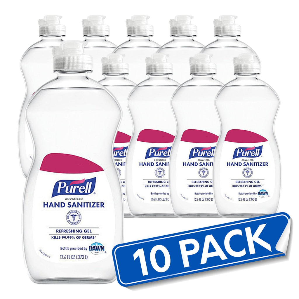 10 (12.6oz) Pack Purell® Advanced Hand Sanitizer Gel - Bayview Pharmacy