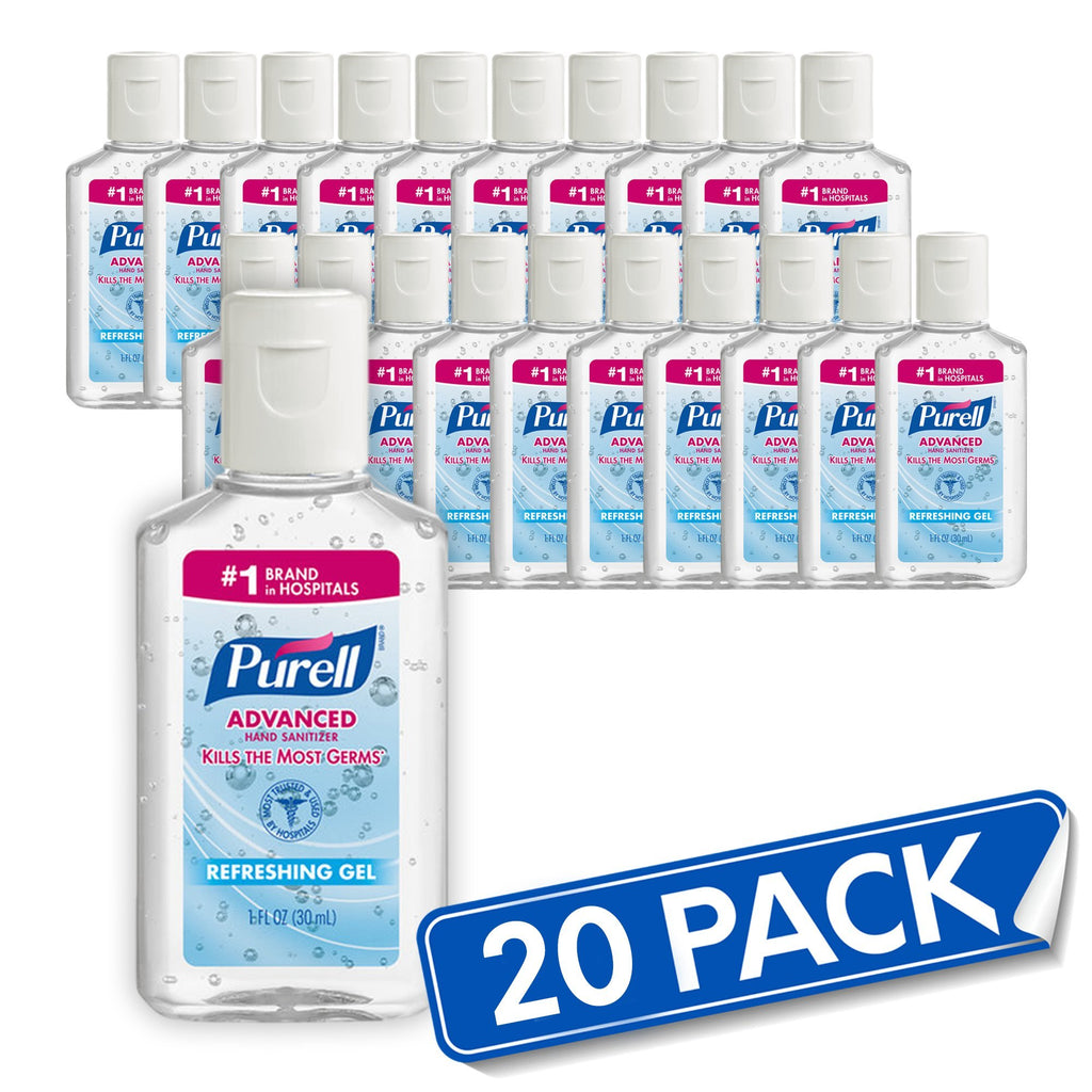 20 (1oz) Pack Purell® Advanced Hand Sanitizer Gel - Bayview Pharmacy