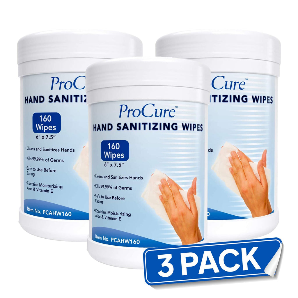 3 Pack ProCure™ Sanitizing Wipes - Bayview Pharmacy