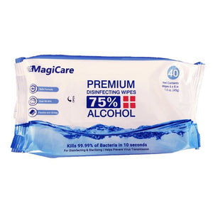 MagiCare Disinfecting Wipes 75% Alcohol (Ethyl) - Bayview Pharmacy