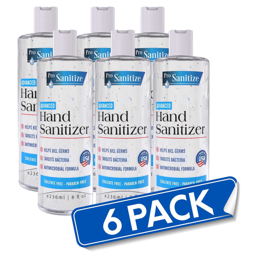 Pro Sanitize Hand Sanitizer Gel (6ct) *ON SALE* - Bayview Pharmacy