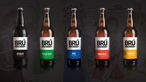BRÚ Brewery, located in Trim, Co. Meath. Produce includes Lagers, Pale Ale, Red Ale, IPA and Stout. Quality produce made with passion.
