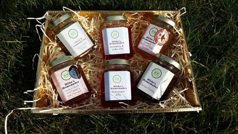 Hilda's Homemades is a multi-award winning artisan food business, producing a wide range of handmade, homemade jams, chutneys, jellies and preserves.