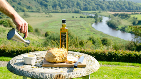 Newgrange Gold Rapeseed Oil is grown and produced in the heart of the Boyne Valley, Co. Meath.  We produce a variety of Rapeseed Oils.