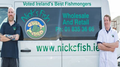 Nicks Fish is Ireland's leading family Fishmongers. Fresh Fish and seafood from daily around the country.