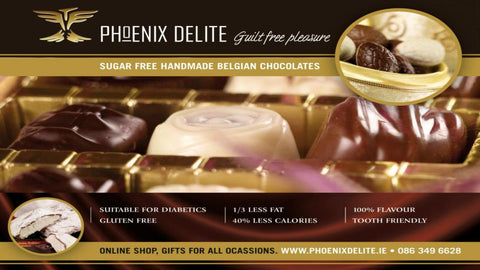 We, at Phoenix Delite, make gorgeous Luxury Handmade Belgian Chocolates and Truffles. Luxury Sugar Free Handmade Chocolates for Diabetics and people who want to maintain a healthy weight.