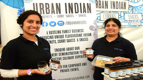 Urban Indian, a bustling family business, producing unique flavoursome Indian chutneys, curry sauces and snacks.