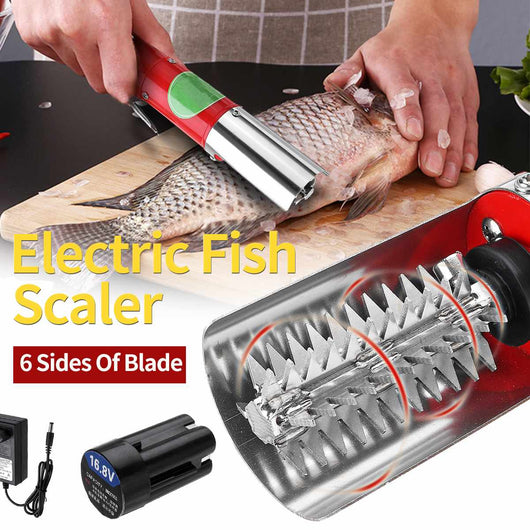 Portable Waterproof Cordless Electric Fish Scaler