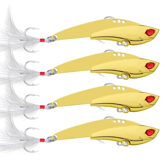 Jigging Wobbler Blade Bait Fishing Lure Silver/Gold Color  11g 16g 23g