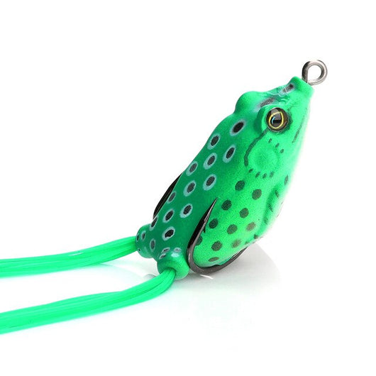 Top Water Frog Soft Fishing Lure With Skirt