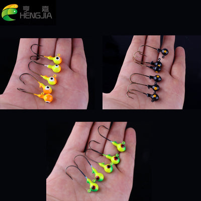 5 pcs 3.5g round jig heads