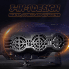 Load image into Gallery viewer, Portable Car Heater & Defroster With Fan
