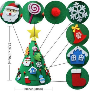 Merry Christmas Decoration Playtime Children's Tree