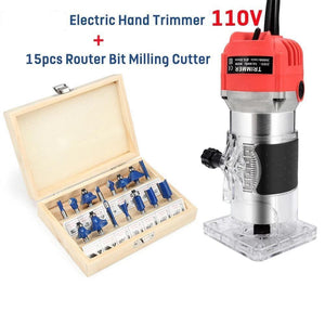 Electric Hand Wood Trimmer Wood Router(Others)