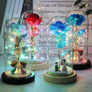 Enchanted Galaxy LED Roses-Free Shipping Today!