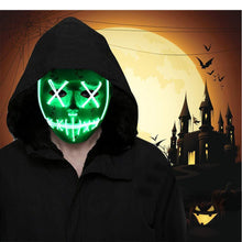 Load image into Gallery viewer, Halloween Horror Glow Mask - BUY 2 FREE SHIPPING