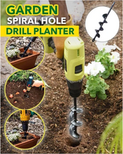 Load image into Gallery viewer, Garden Spiral Hole Drill Planter