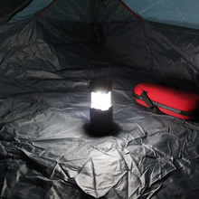 Load image into Gallery viewer, 3-in-1 Camping Lantern,Portable Outdoor LED Flame Lantern Flashlights