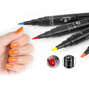 🎁-One-Step Easy Gel Nail Polish Pen, Various Lush Colors!