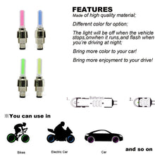 Load image into Gallery viewer, SO COOL!!!ONLY $5.99 - LED Tire Wheel Valve Caps
