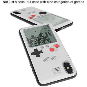 Game Phone Case For iPhone With 27 Small Games