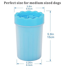 Load image into Gallery viewer, Silicone Pet Foot Wash Cup Paw Cleaner
