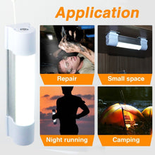 Load image into Gallery viewer, Portable USB Rechargeable Magnetic LED Camping Light