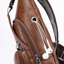 Load image into Gallery viewer, Outdoor Anti-theft Shoulder Bags With USB Charging Port And Headphone Port