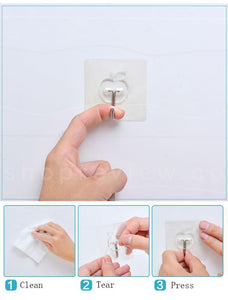 Reusable Adhesive Wall Hook