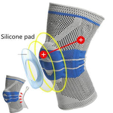 Load image into Gallery viewer, Nylon Silicon Knee Sleeve - BUY 2 FREE SHIPPING