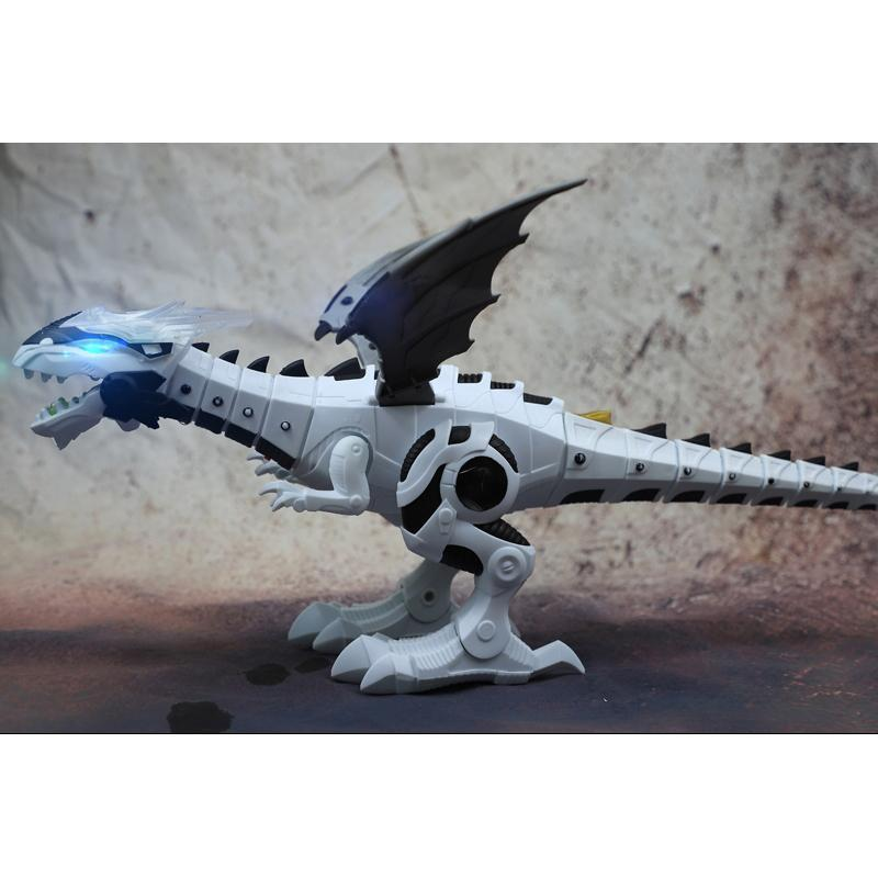 Mechanical Spray Electric Dinosaur Toy