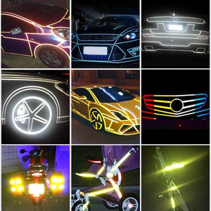 CAR LUMINOUS STICKERS - ONLY $9.99