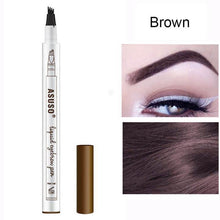 Load image into Gallery viewer, Eyebrow Tattoo Pen -a Micro-Fork Tip Applicator Creates Natural Looking Brows Effortlessly and Stays on All Day